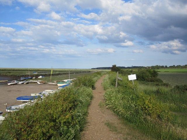 Morston: the Norfolk Coast Path / Peddars Way