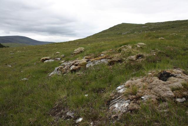 Moorland below Creagan a'  Chaorrainn