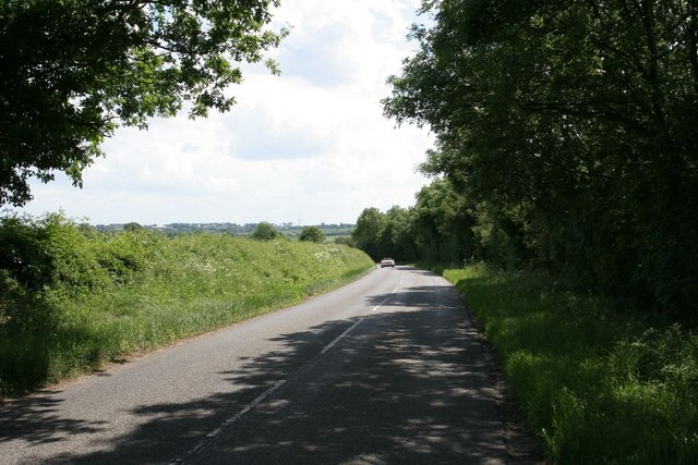 Road by the quarry