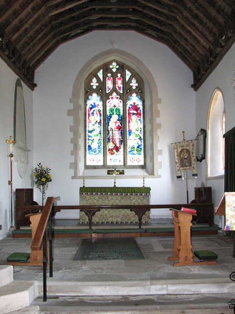 St Michael's church in Ormesby - the chancel