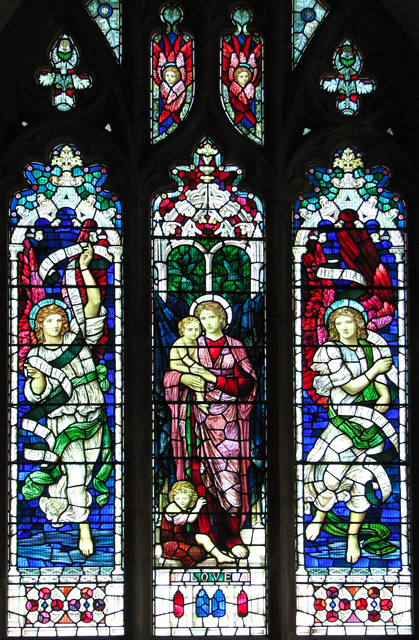 St Michael's church in Ormesby - east window