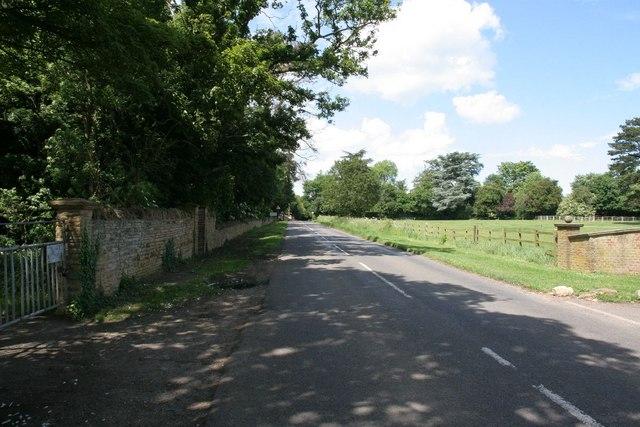 Outside Pitsford