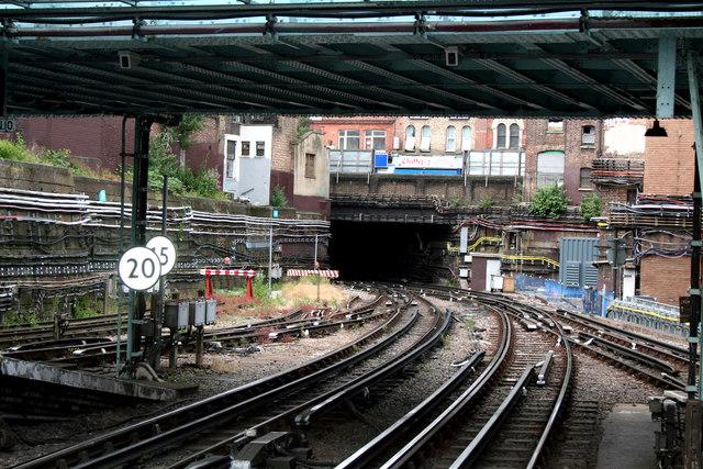 Whitechapel Station, District Line