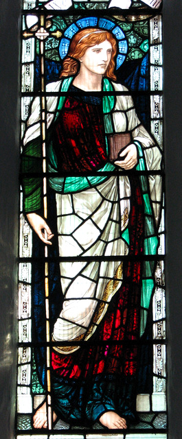 St Michael's church in Ormesby - stained glass