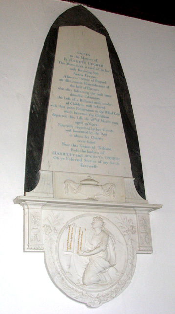 St Michael's church in Ormesby - memorial
