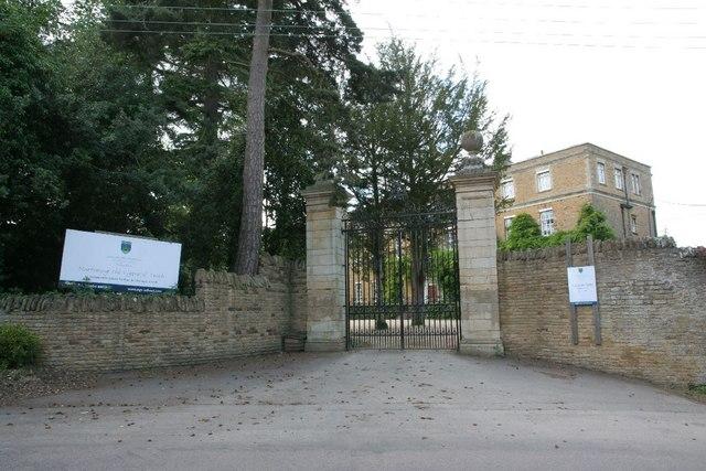 Gates to the school
