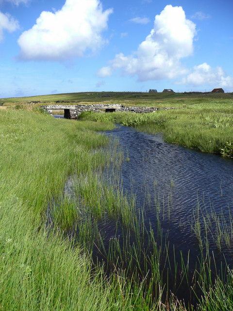 Old bridge, Siabost, Isle of Lewis