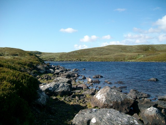 North-West corner of Loch Carabhat