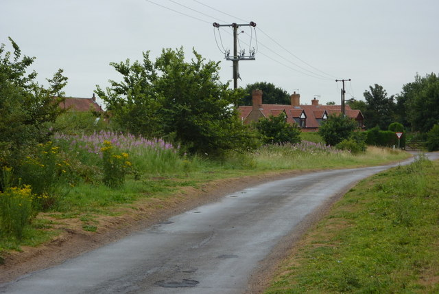 Old London Road towards Jockey Lane junction