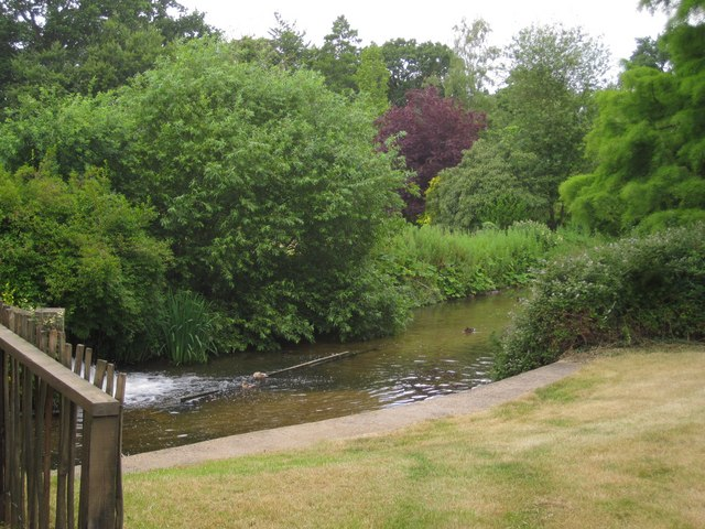 Mill Race at Letheringsett Water Mill on the River Glaven