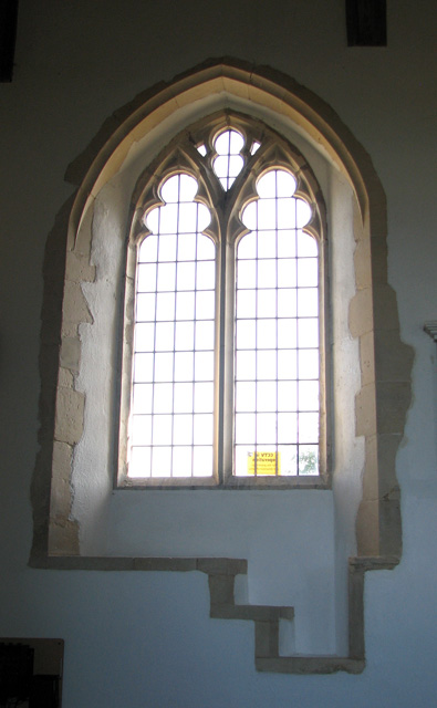 St Michael's church in Ormesby - nave south window