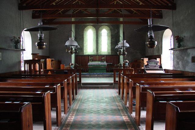 All Saints' church interior