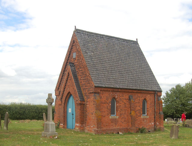 North Kelsey Cemetery chapel