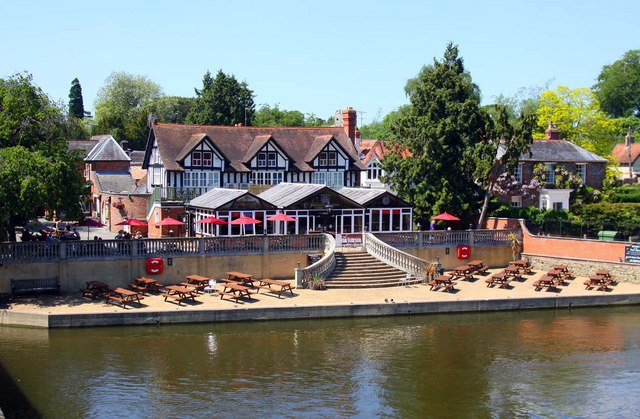 The Boathouse by the Thames
