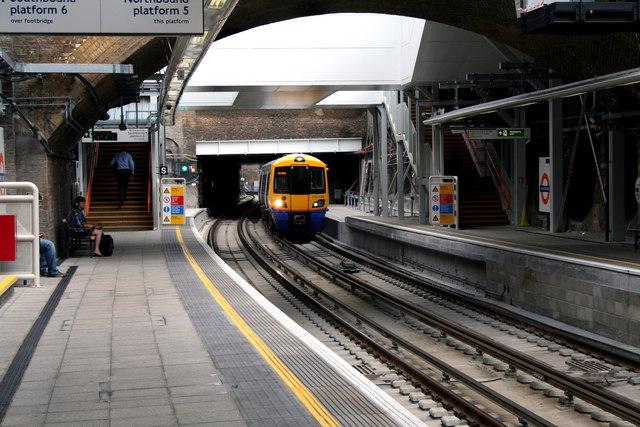 Whitechapel Station, East London Line
