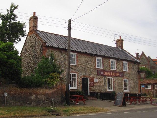 Binham: Chequers Inn