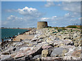 TR1533 : Martello Tower number 15, Hythe by Oast House Archive