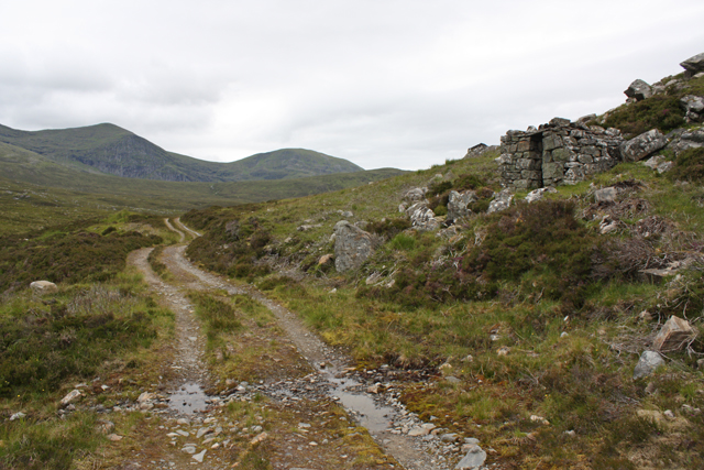 Shelter south of Meall-Breac