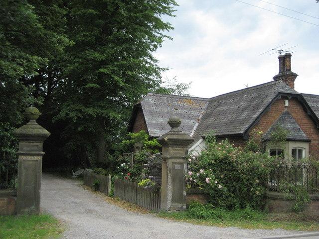 Lodge and Gateway to Almora Hall