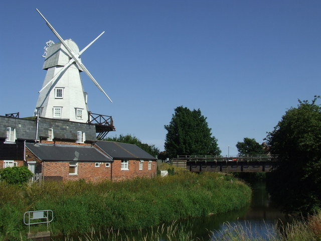 Windmill and river, Rye