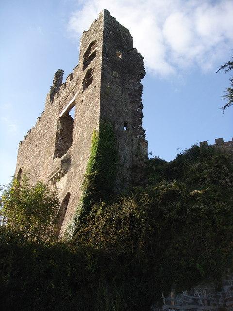 Laugharne Castle, Carmarthen