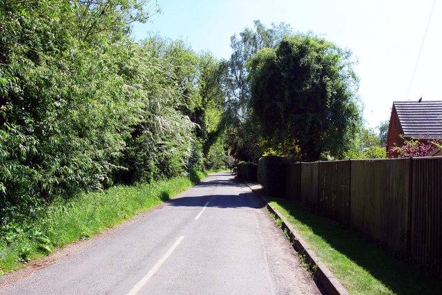 The Thames Path follows the road