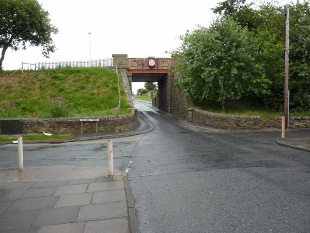 Former railway bridge over Dryden Street