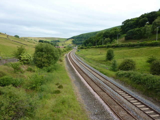Burnley to Todmorden Railway