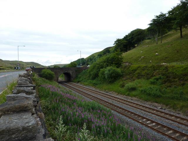 Bridge over the Burnley to Todmorden Railway