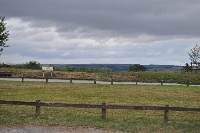 Exmoor : Haddon Hill Car Park