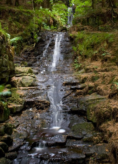Waterfall, Glenashdale Wood, Isle of Arran