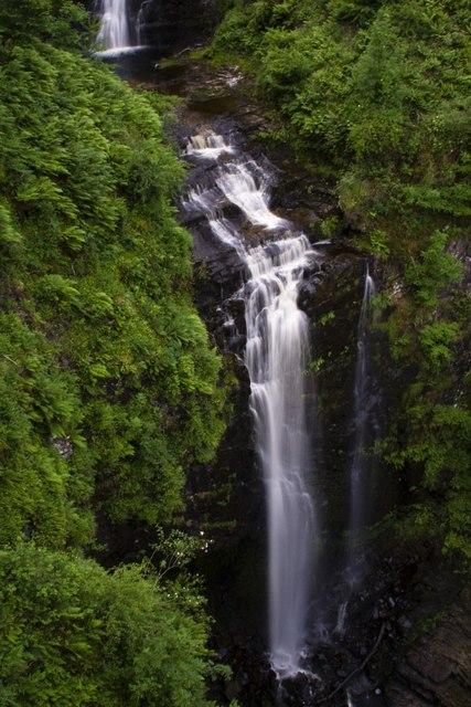 Glenashdale Falls (Eas a'Chrannaig) , Isle of Arran