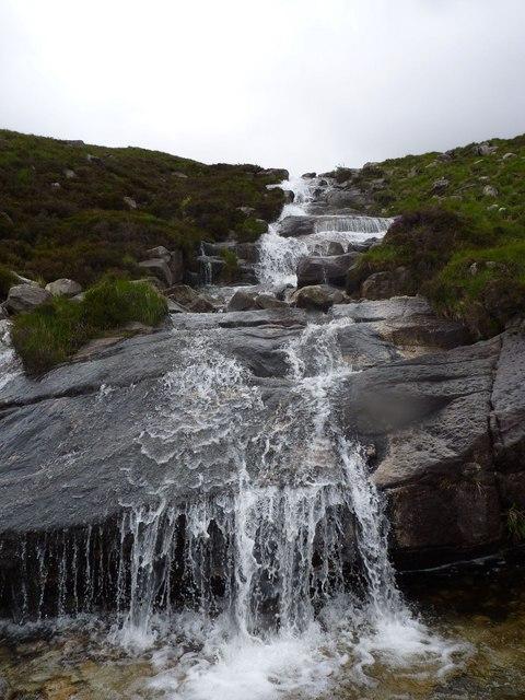 Waterfall on Corrie Burn, Isle of Arran