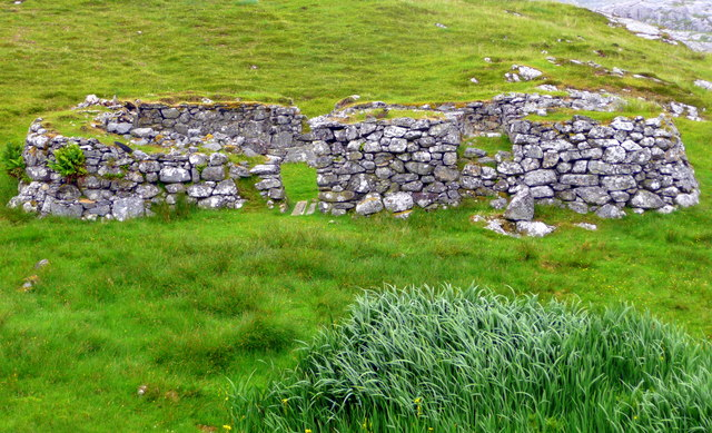 Blackhouse remains, Liceastro.