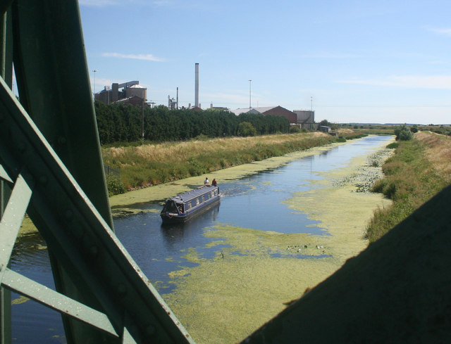 Sugar factory across River Witham