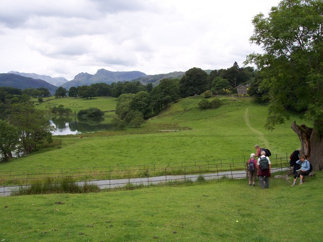 Stile at Loughrigg Tarn