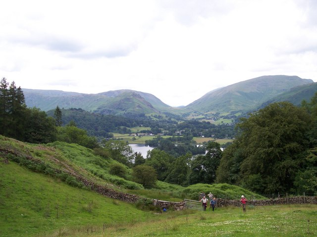 Grasmere from Red Bank Wood