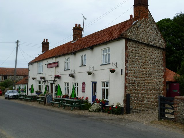 Cley next the Sea: the Three Swallows pub