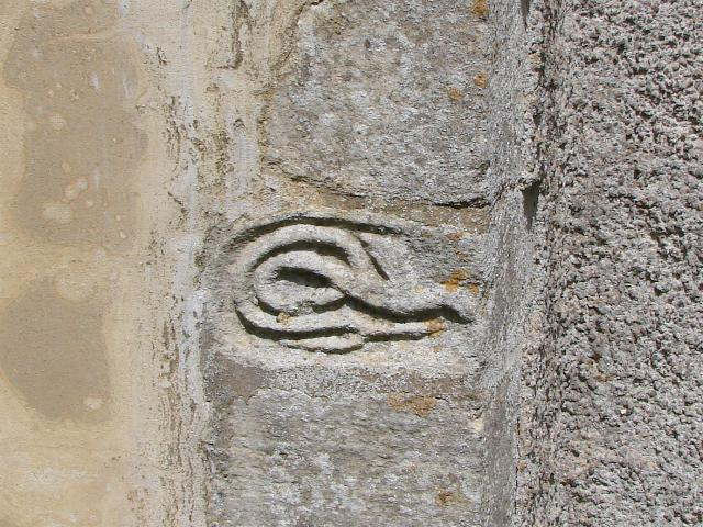 Great Welnetham Church snake