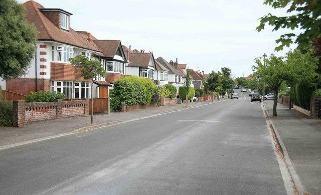 Houses in Hengistbury Road