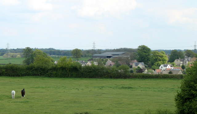 2010 : Burton from the M4 overbridge