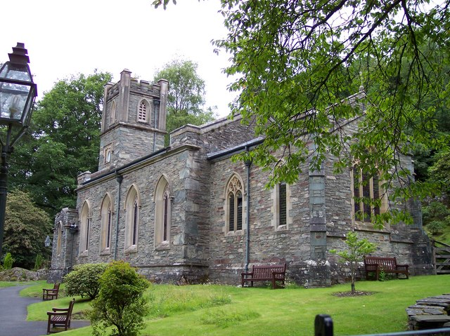 St Mary's church at Rydal
