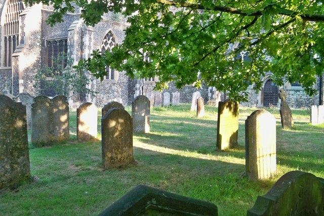 St. Mary's Churchyard - Faversham
