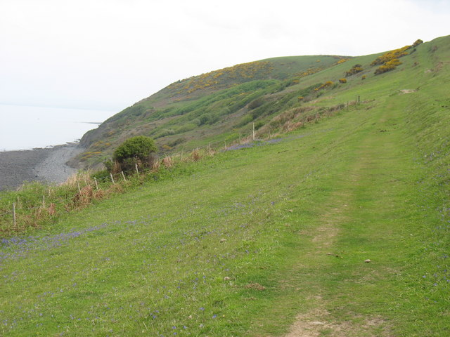Ceredigion Coast Path south-west of Aberaeron