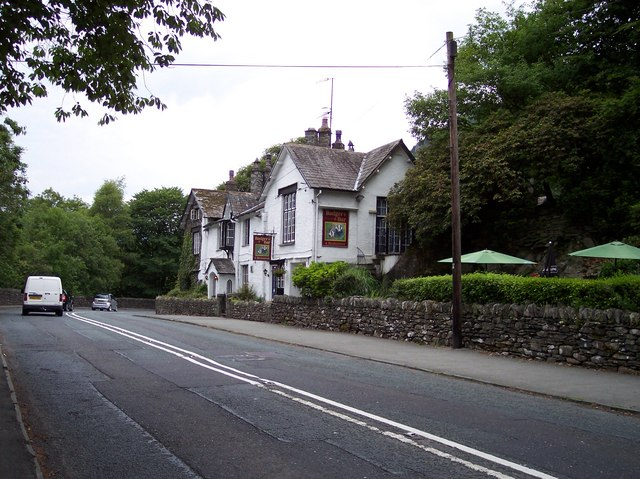 Badger Bar and restaurant at Rydal