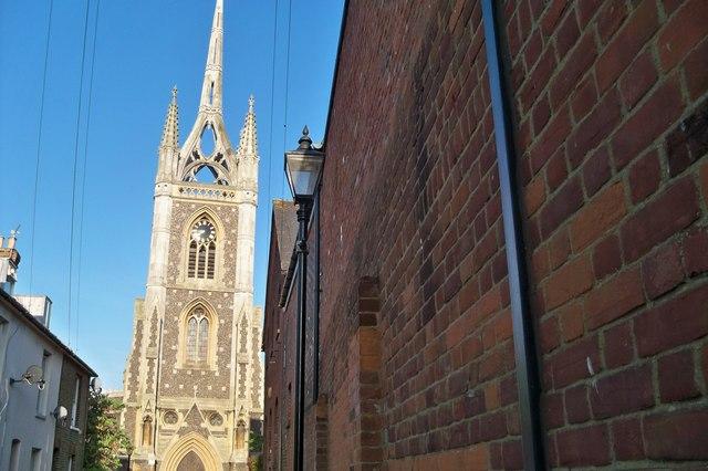 Church Spire - Faversham