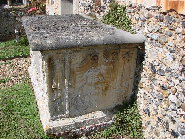 Chest Tomb at Brent Eleigh, Suffolk