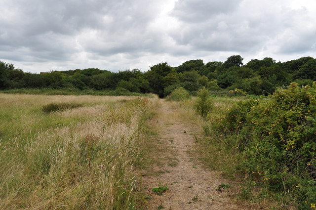 Footpath across the fields to Beachley