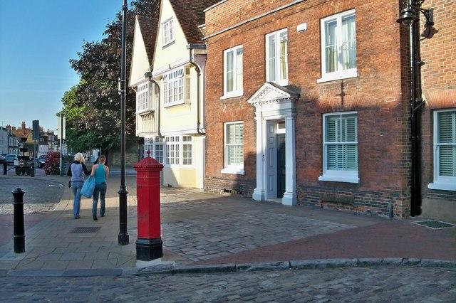 Letter Box - Faversham