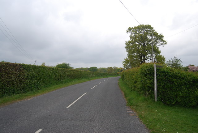 Horsted Lane, northwards